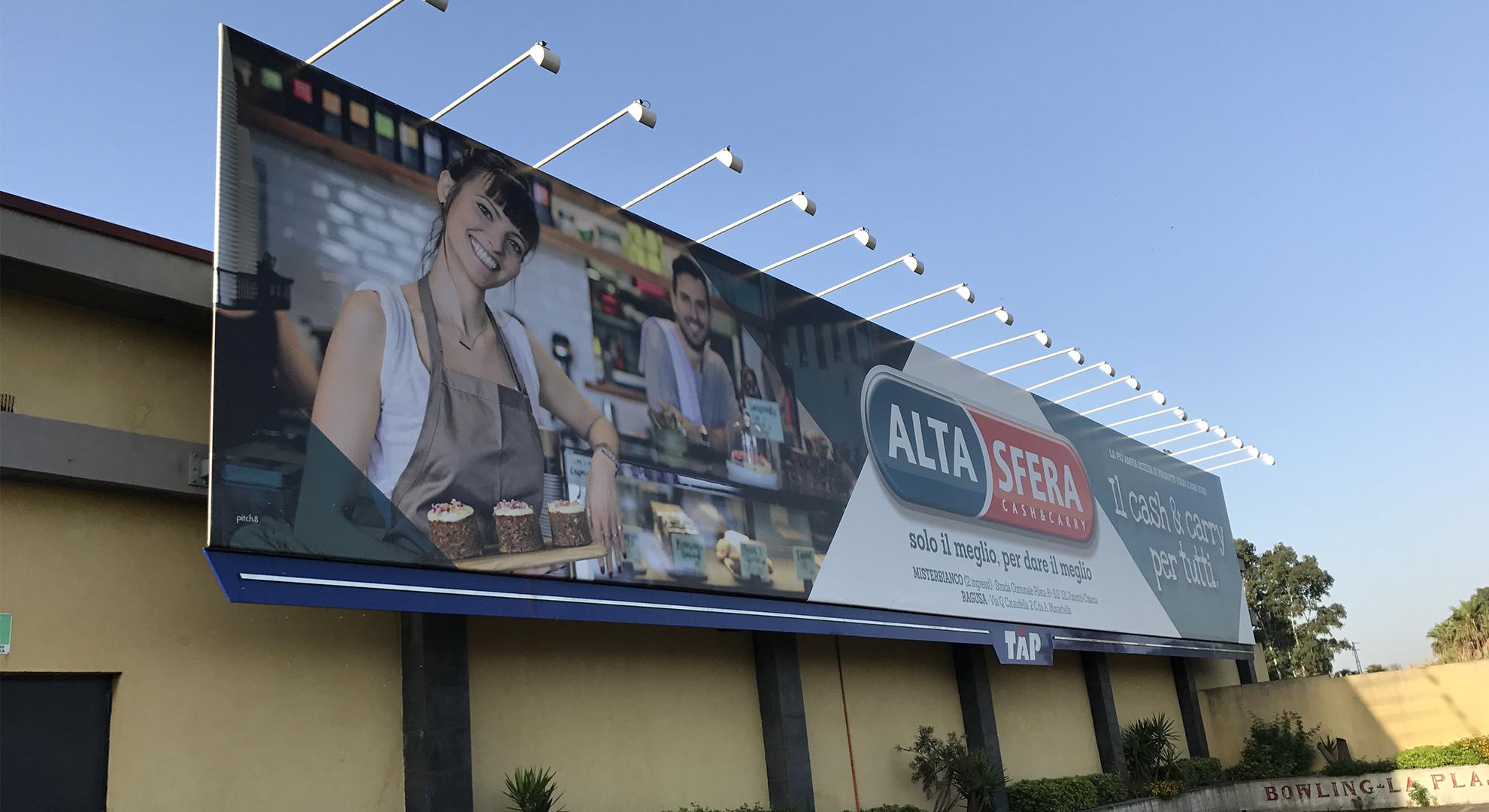 impianto pubblicitario