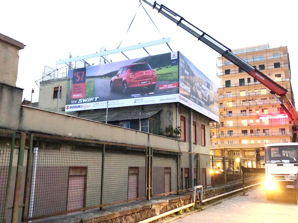 installazioni cartelli pubblicitari